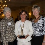 From left to right: Mayor of Murrysville Joyce Sommers, Barbara VanKirk and Nancy Kacin at the Winners' Circle Luncheon.