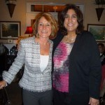 Barbara VanKirk and Mary Wilkinson, celebrating Mary's 10 year anniversary with IQ Inc.