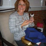 barb at the 2009 IQ Holiday Party