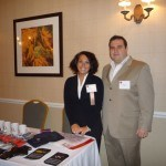 Mike Duddy and Jaclyn Livengood (nominee) of IQ Inc. at the 2010 Winners' Circle Awards Luncheon