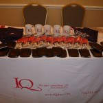 IQ Inc. table display at the 2010 Winners' Circle Awards Luncheon