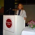 2010 Winners' Circle Emcee, Barbara VanKirk - President & Owner, IQ Inc. and 2009 ATHENA Award Winner