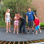 More trampoline fun
