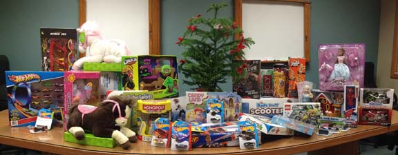 Toys for Tots and Ugly Christmas Sweaters!