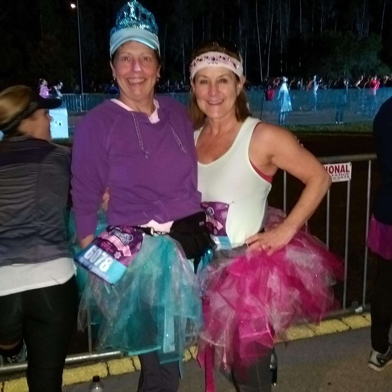Disney Princess Runners Barb and Stephanie