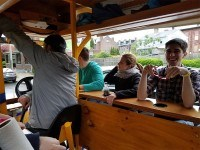 Pittsburgh Party Pedaler - a brief respite from biking