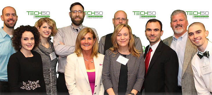 IQ Inc. at the 2016 Tech 50 awards