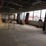 large unfinished office space