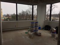 unfinished office space