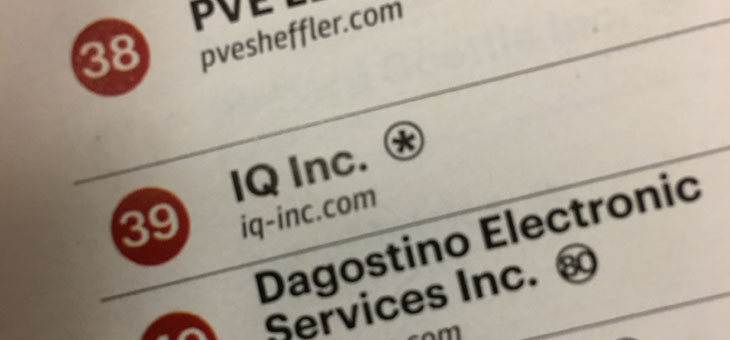IQ Inc. is #39 of Pittsburgh's Fastest-Growing Companies