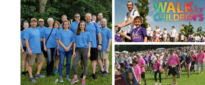 IQ Inc. Walks for Children's Hospital