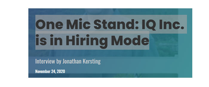 One Mic Stand: Sitting down with PTC's Jonathan Kersting